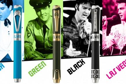 """Icons tribute to Elvis Presley"" pens"
