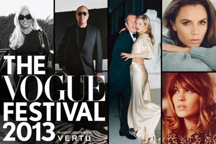 A round up of the second Vogue Festival