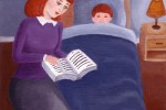 Few parents with kids are engaged in nightly reading