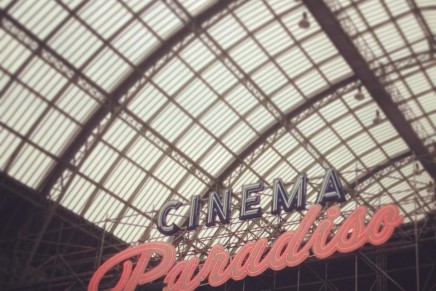 Sparkling movie-going experience: the biggest drive-in theater in the French capital