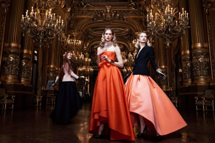 Dior Ready-to-Wear Fall 2013 at the Paris' Opéra Garnier