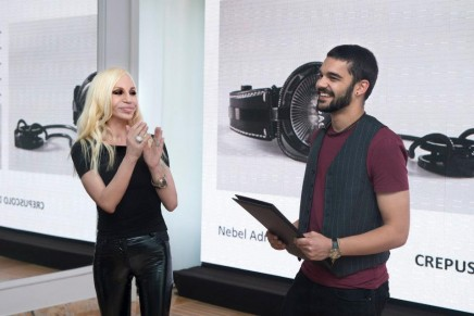 The inaugural Versace Watch Talent competition