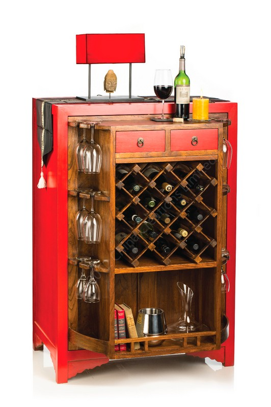 Red Emperor wine cabinet - 2LUXURY2.COM
