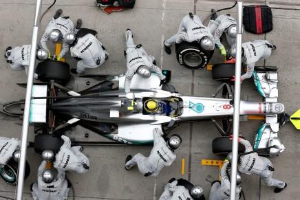 IWC x Mercedes AMG Petronas pop-up store