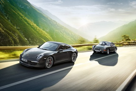 The Porsche 911 – 50th anniversary edition