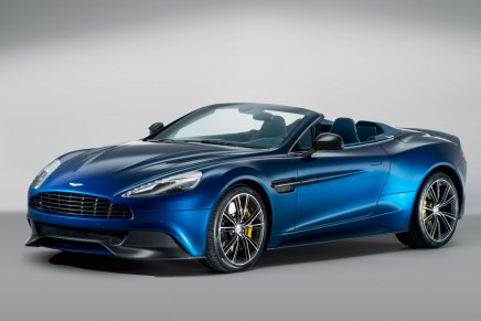 Vanquish Volante – first carbon-fiber bodied convertible in Aston Martin's history