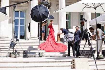 Uma Thurman – the star of the Campari Calendar 2014