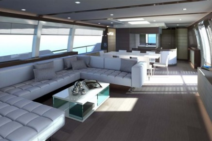 Ferretti 960 – the largest planing recreational craft ever built by Ferretti Yachts