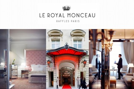 Emotional luxury: Le Royal Monceau Raffles Paris joins the ranks of superstar Palace hotels