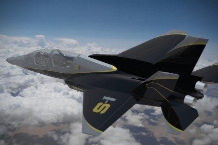 The ultimate personal jet – Saker S-1 with eject seat button