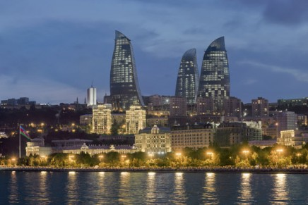 The emerging Azerbaijan opens first Fairmont Baku, Flame Towers