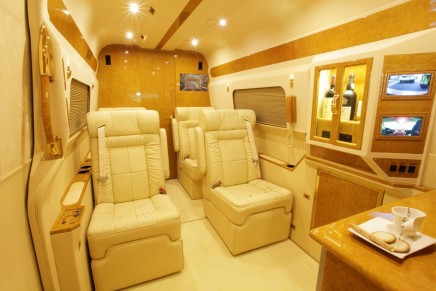 A 5-star executive suite wrapped in ballistic steel