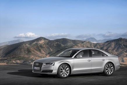 On the way to the Frankfurt Motor Show: Audi honing the character of its flagship model