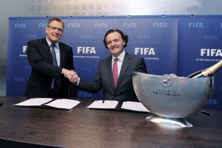Taittinger announced as official FIFA champagne