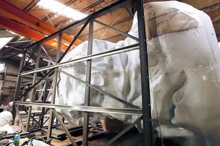 Chevrolet Centennial Artwork – Switzerland's largest steel bust