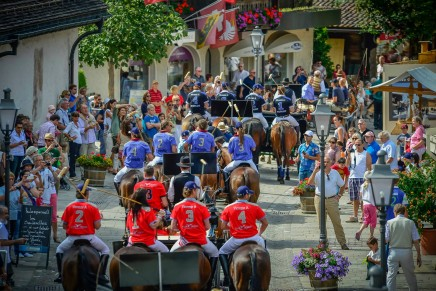 Sporty and glamorous 18th edition of Hublot Polo Gold Cup Gstaad 2013