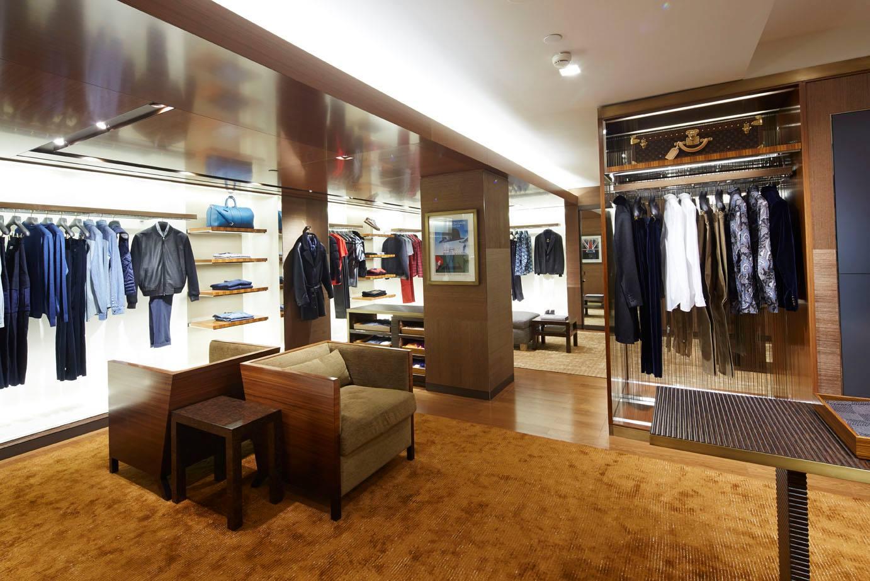 Menswear heaven opened by Louis Vuitton