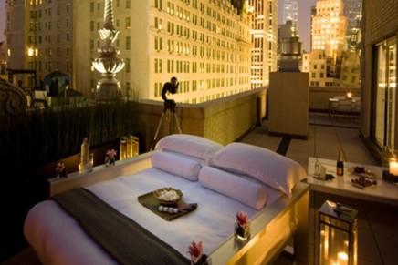 "Urban ""glamping"" in New York"