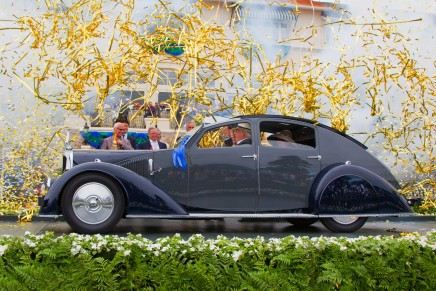 2013 Pebble Beach Tour d'Elegance – The elegance of the automobile in motion