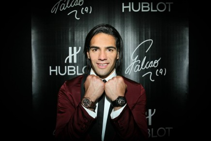 Falcao – the first Colombian ambassador for Hublot
