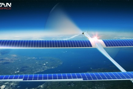 World's first solar-powered atmospheric satellite