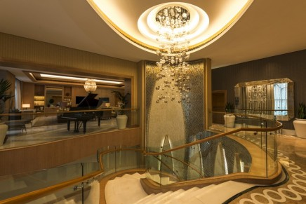 The largest hotel suite in the United Arab Emirates unveiled