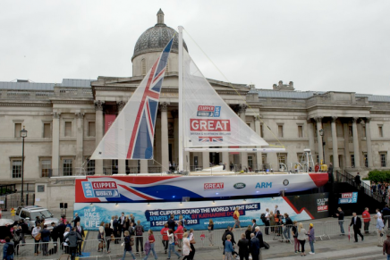 Great Britain Team Yacht for 2013-14 edition of the Clipper Round the World Yacht Race