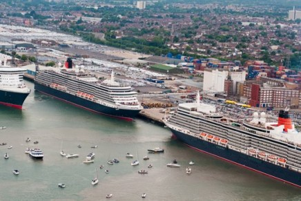 Cunard celebrates 175 years since first circumnavigation of the globe