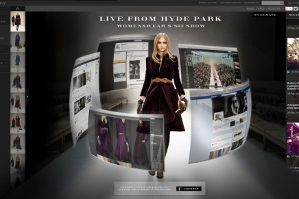 Burberry to capture London Fashion Week show experience on the iPhone 5s
