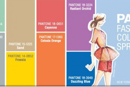 Fashion Color Report Spring 2014. A season of colorful equilibrium