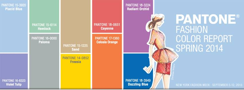 fashion color report spring 2014 a season of colorful