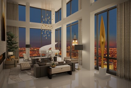 Manhattan's hottest real estate offering: $50 Million Presidential Penthouse