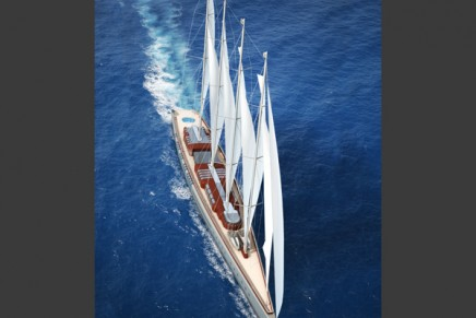 141 m Dream Symphony. Unquestionably the World's largest sailing superyacht