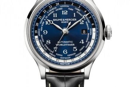 Baume & Mercier's first limited-edition Capeland Worldtimer
