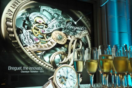 New store concept and exhibition unveiled by Breguet