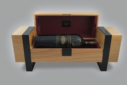 The world's most expensive retailed bottle of red wine