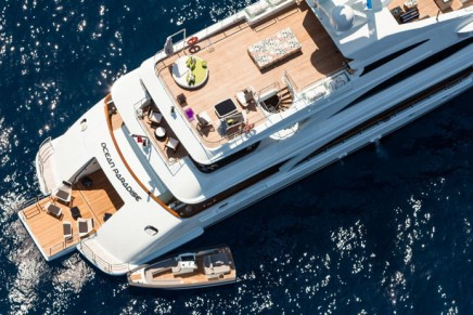 """Benetti's Ocean Paradise is the """"greenest"""" yacht of the 2013 Monaco Yacht Show"""