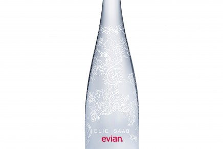 Pursuit of purity in design: evian by ELLIE SAAB