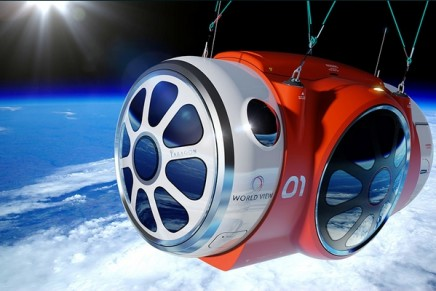 Sub-orbital balloon ride to cash in on the space tourism boom
