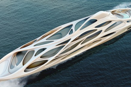 Battle of the superyachts: architects go overboard