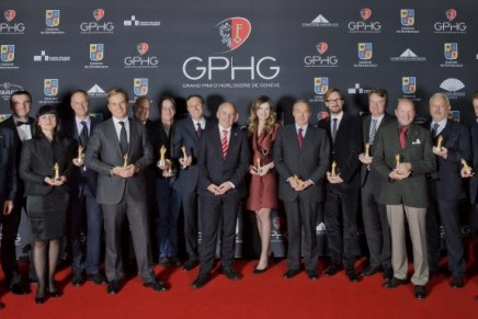 The year's finest watch creations honoured at 13th Grand Prix d'Horlogerie de Genève