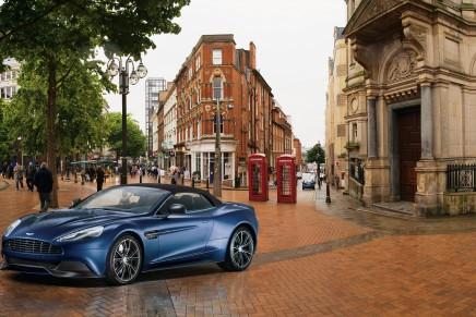 Bespoke Aston Martin Vanquish Volante Neiman Marcus Edition