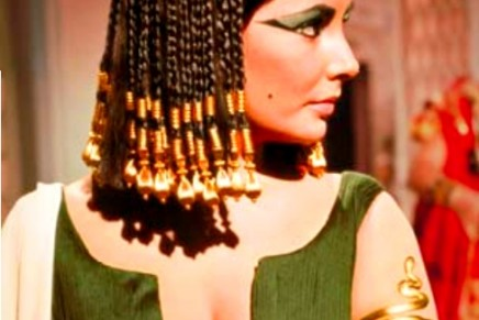 Custom-designer jewel inspired by the 50th Anniversary of Taylor's Cleopatra