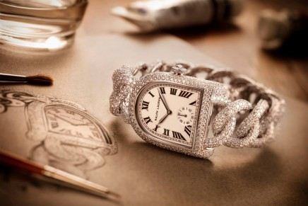 Portraits of Craftsmanship: The Stirrup Diamond Link Watch