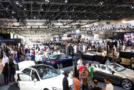 Milestone anniversaries at 2013 Dubai International Motor Show