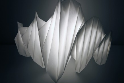Issey Miyake x Artemide's new IN-EI collection