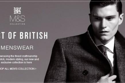 M&S Best of British menswear range: not just a suit …