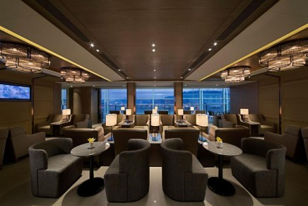 The largest pay-in lounge in Asia opened at Hong Kong International Airport