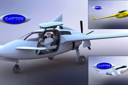 Raptor Turboprop Kit Aircraft – as spacious as a 7-series BMW