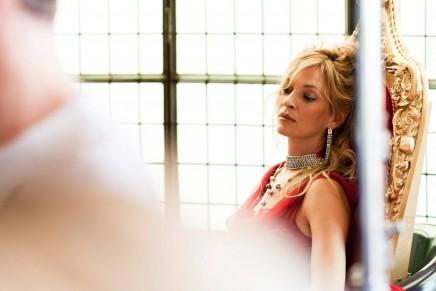 Campari's glamorous heroine for 2014 Calendar